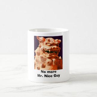 No more Mr. Nice Guy Basic White Mug