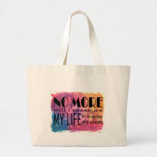 No More! New Age Original Large Tote Bag