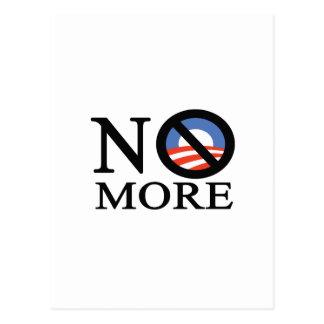 No More Obama Post Card