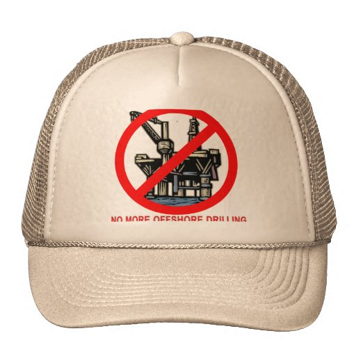 No More Offshore Drilling Tshirts and Buttons Hat