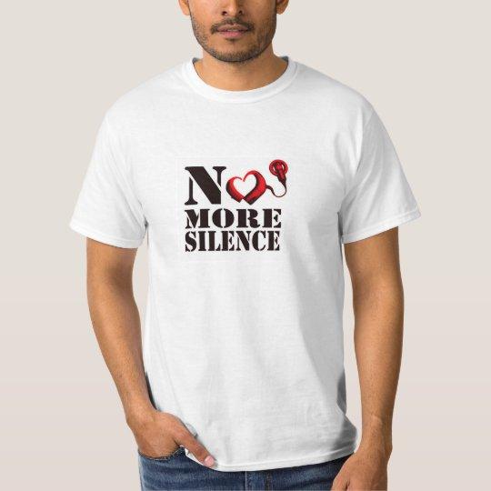 No More Silence Men's T-Shirt