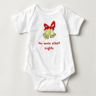 No more silent nights baby bodysuit