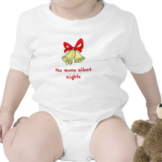 No more silent nights bodysuits