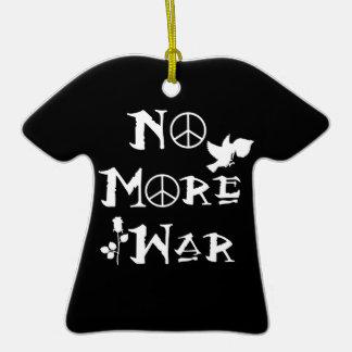 No More War Ceramic T-Shirt Decoration