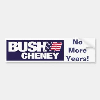 No More Years! Bumper Sticker