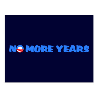No More Years Postcard