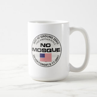 No Mosque At Ground Zero Basic White Mug