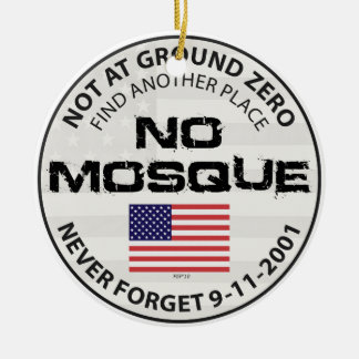 No Mosque At Ground Zero Christmas Ornament