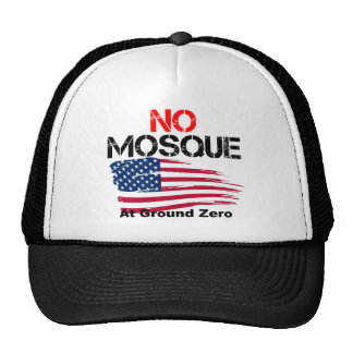 No Mosque at Ground Zero Mesh Hat