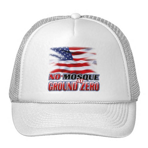 No Mosque At Ground Zero Mesh Hats