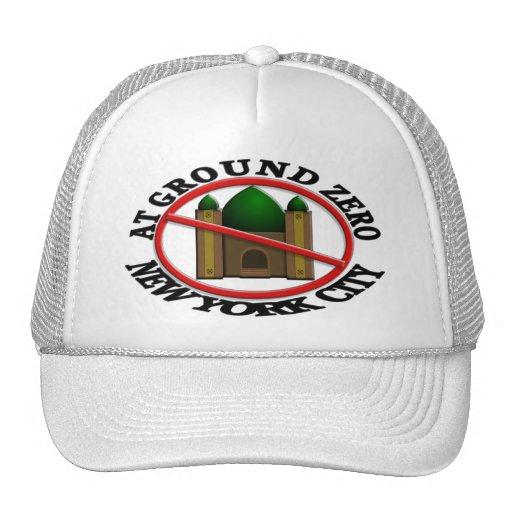 No Mosque At Ground Zero Mesh Hat