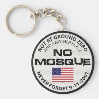 No Mosque At Ground Zero Key Chain