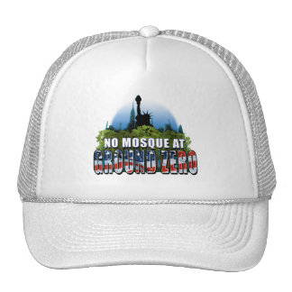 No Mosque At Ground Zero (Liberty) Trucker Hats