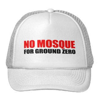 NO MOSQUE FOR GROUND ZERO MESH HAT