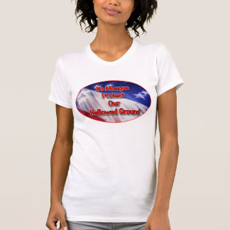 No Mosque Protect Our Hallowed Ground T Shirt
