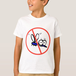 no mosquito funny cartoon design T-Shirt
