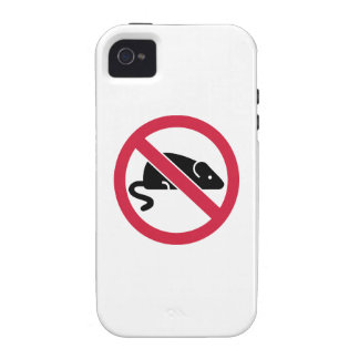 No mouse rat Case-Mate iPhone 4 cases