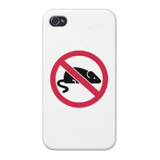 No mouse rat iPhone 4/4S covers