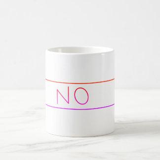 """""""NO"""" mug"""