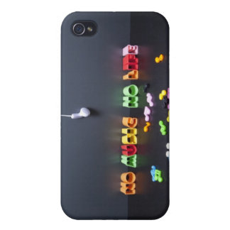 No Music No Life iPhone 4/4S Cover