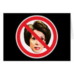 No Nancy Pelosi Greeting Card