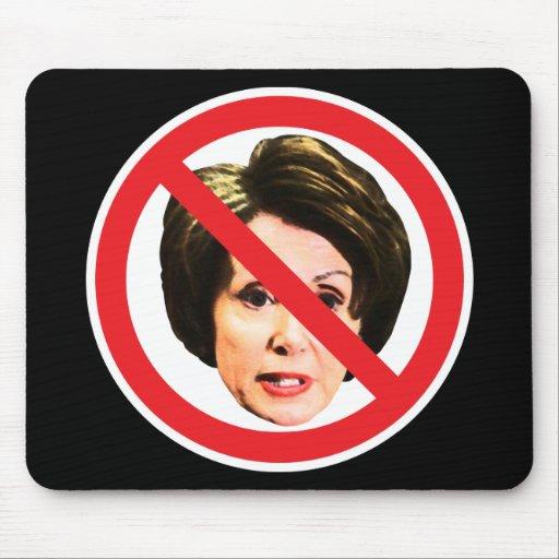 No Nancy Pelosi Mouse Pads