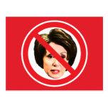 No Nancy Pelosi Postcard