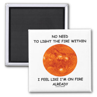 No Need To Light The Fire Within I Feel Like I m Magnets