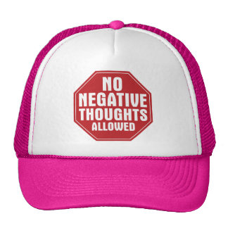 No Negative Thoughts Allowed Mesh Hat