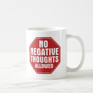 No Negative Thoughts Allowed Mug