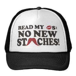 No New Staches hat - choose color