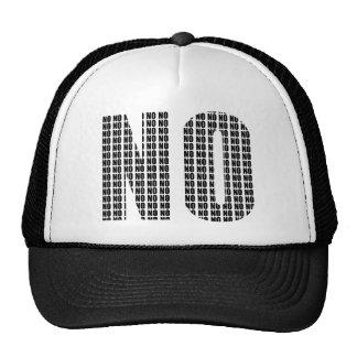 No No Funny Ball Cap Hat
