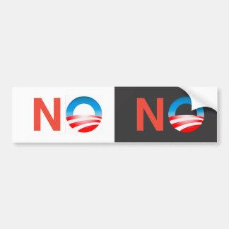 NO Nobama No Obama Bumper Sticker