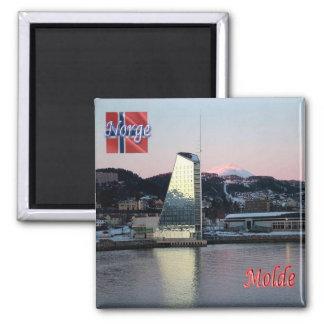 NO - Norway - Molde Panorama Square Magnet