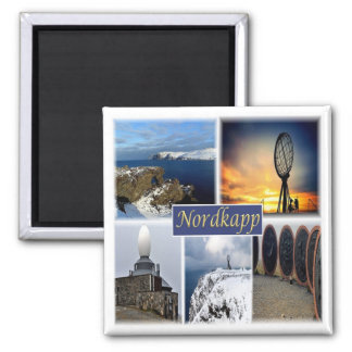 NO * Norway - Nordkapp North Cape Magnet