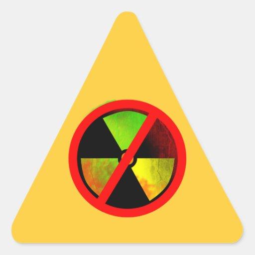 No Nukes Anti-Nuclear Symbol Sticker