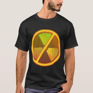 No Nukes Radioactive Grunge Anti-Nuclear Symbol T-Shirt
