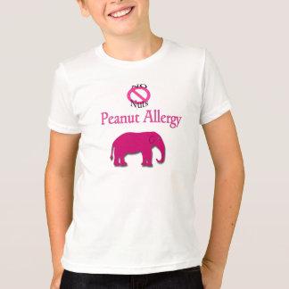 No Nuts Peanut Allergy Elephant Shirt