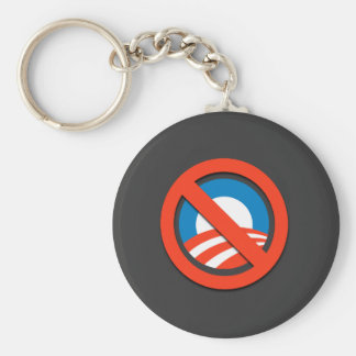 "NO ""O"" / No Obama Key Ring"