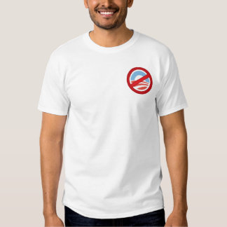 No O T-shirt Upper Chest Imprint