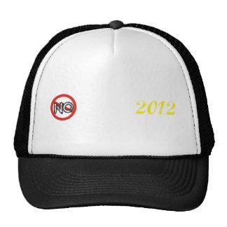 no obama 2012 hats
