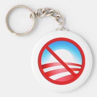 No Obama 2012 Keychain