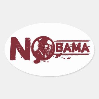 No Obama 2012 Sticker