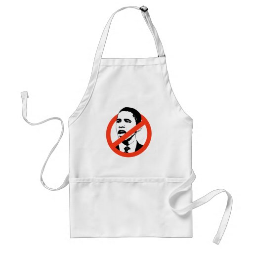 No Obama / Anti-Obama T-shirts Aprons