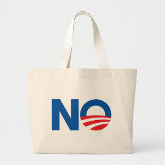 No Obama Canvas Bags