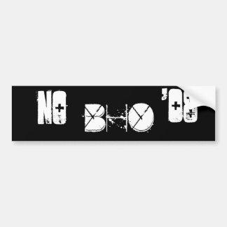 no Obama Bumper Sticker