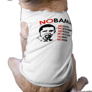 NO OBAMA NO WAY DOG TEE