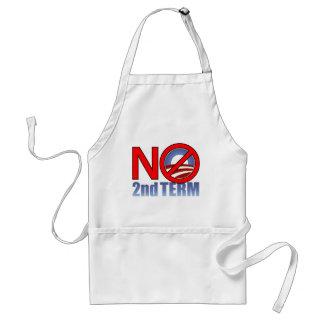 NO Obama Second Term Standard Apron