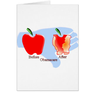 no obamacare2.png greeting card