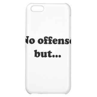 No offense but cover for iPhone 5C